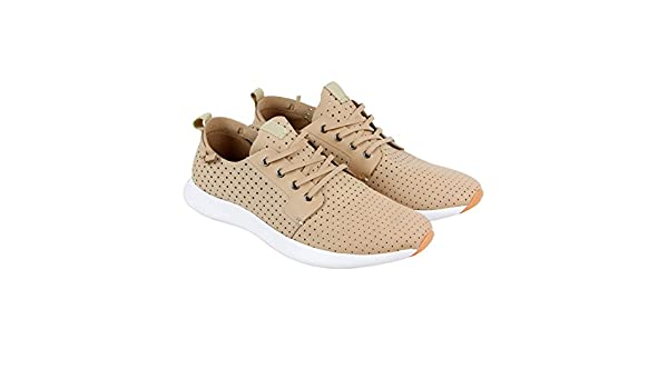 7505ce8363d Steve Madden P-Chyll Mens Tan Leather Slip On Slip On Sneakers Shoes ...