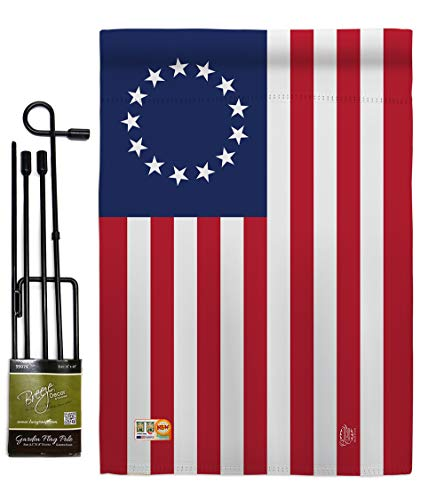 - Ornament Collection GS192173-P3 Betsy Ross Americana Historic Impressions Decorative Vertical 13