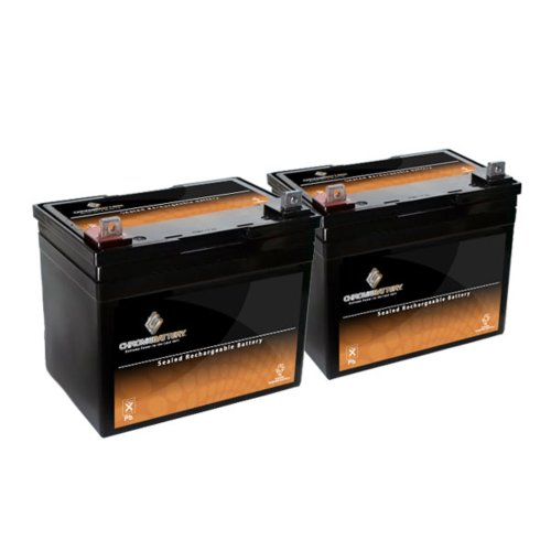 12V 35AH SLA Battery for Pride LX/Legend/Legend XL - 2PK