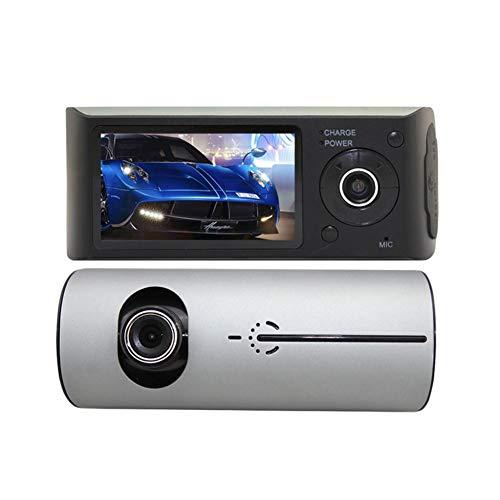 Cheng-Store R300 Dual Lens Dash Cam 720P Full HD Car Dash Camera Video Recorder 2.7