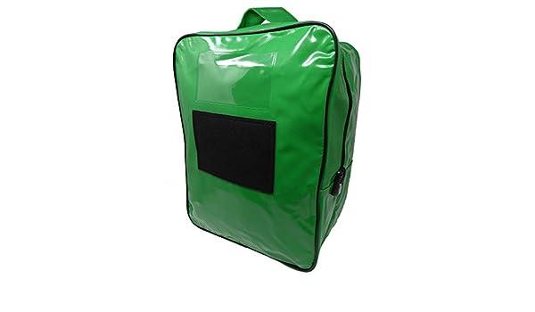 Bolsa Valija para Transporte de Documentos y Valores - 32 cm x 42 cm x 20 cm (PVC Verde): Amazon.es: Equipaje