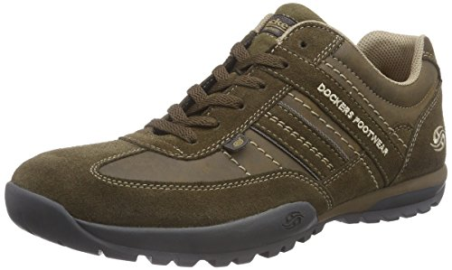 cheap price free shipping buy cheap shop Dockers by Gerli Mens 36HT001 Low-Top Trainer Multicolour (Stone 420) high quality sale online Cheapest discount limited edition xgVjoHp0F