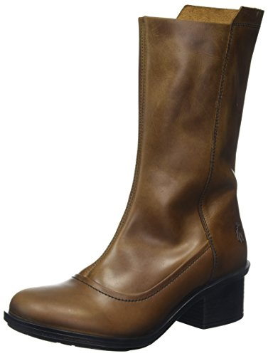 Came718flyBottes London Marroncamel Fly Femme VSMzpGqU