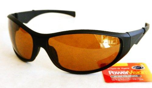PowerVision Mens HI-DEF POLARIZED Sport Sunglasses (439) 100% UVA & UVB Protection-Shatter Resistant + FREE BONUS MICROSUEDE CLEANING - Def Hi Sunglasses