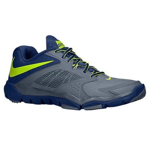 New Nike Mens Flex Supreme TR 3 Cross Trainer Blue Graphite/Volt 9 - Nike Flex Trainer 3 Men