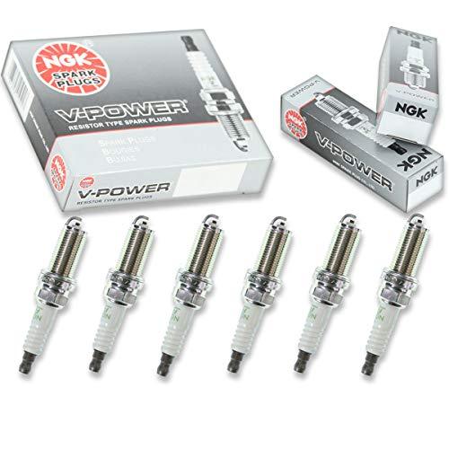 NGK V-Power 6pcs Spark Plugs Nissan Murano 03-07 3.5L V6 Kit Set Tune Up