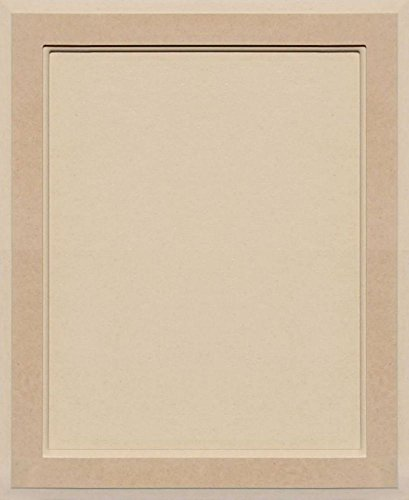 Flat Panel Cabinet Doors (Unfinished MDF Square Flat Panel Cabinet Door by Kendor, 22H x 18W)