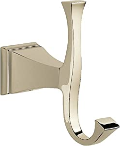 Delta Faucet 75135 Pn Dryden Robe Hook Polished Nickel