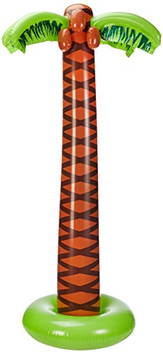 Widmann 2392C - Deko Palme aufblasbar circa 180cm