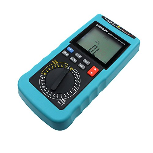 Cable Resistance Tester : All sun digital cable length multimeter wire gauge phone