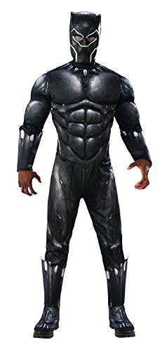 Rubie's Men's Marvel Black Panther Deluxe Costume, X-Large for $<!--$20.14-->