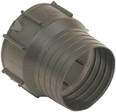 Snap  Downspout Adapter Snap   x 4 in Dia Flex-Drain  3 in