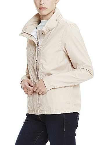 Moonlight Ecru Cotton Jacket Cr11212 Blouson Easy Bench Femme YXwqUq6
