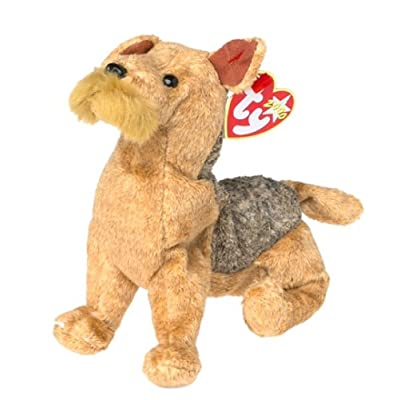 Ty Beanie Babies - Whiskers the Dog: Toys & Games