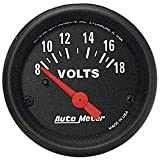 Auto Meter 2645 Z-Series Electric Voltmeter Gauge
