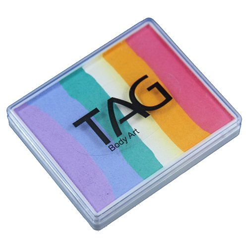 TAG FP 2 Color Split Cake - Fairy Floss (50g)