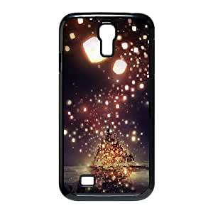 Samsung Galaxy S4 9500 Case Black Tangled Cell Phone Case Cover J5F6QV