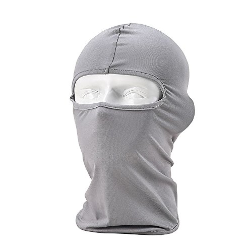Ezyoutdoor Mask Thermal Swat Ski Neck Hoods Full Face Mask Cover Hat Cap for Riding Cycling Hunting Fishing Walking Outdoor Sports ()