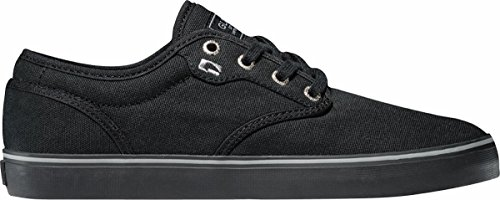 Globe Men's Motley Skateboard Shoe, Black, 10 M (Canvas Surf Rider)