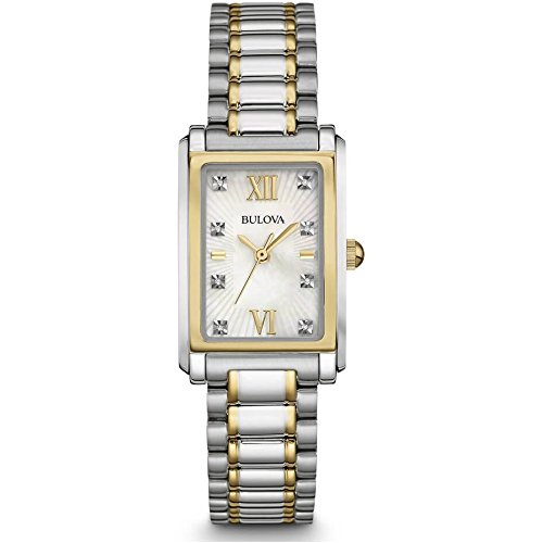 Bulova Women's 98P144 Analog Display Quartz Two Tone Watch