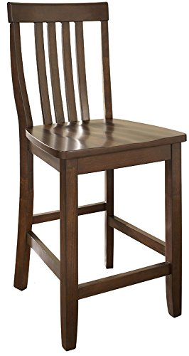 Amazoncom Crosley Furniture Cf500324 Ma Schoolhouse Bar Stool Set