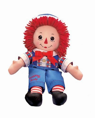 Raggedy Andy Button Eye - Russ Berrie 12-Inch Button Eye Raggedy Andy