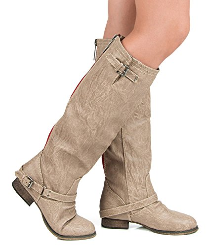 Motorcycle Riding Boots With Thick Soles - 6