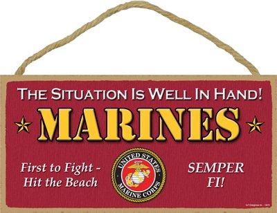 Amazon.com: (sjt13074) U.S. Marines – la Situación es bien ...