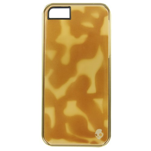 (Skullcandy Aviator Case for iPhone 5/5S, Brown (SKDY4000-BRN))
