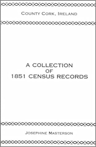 Book County Cork, Ireland, a Collection of 1851 Census Records