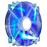 Cooler Master R4-LUS-07AB-GP MegaFlow 200 - Sleeve Bearing 200mm Blue LED Silent Fan for Computer Cases
