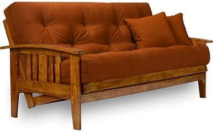 Amazon.com: Westfield Wood Futon Frame - Full Size: Furniture & Decor