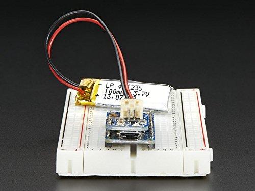 Adafruit Pro Trinket LiIon/LiPoly Backpack Add-On by Adafruit (Image #4)