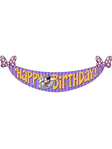 Minnie's Bow-Tique Dream Party Birthday Banner (1ct)