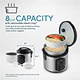 Aroma Housewares ARC-954SBD Rice Cooker, 4-Cup