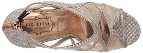 Ted Baker Women's Xstal Fashion Boot, Black Rose Gold
