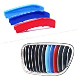 for 11-13 BMW 5 Series (12Grilles one Side) 3D M Styling 3 Colors...