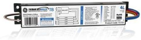 GE Ultramax GE-432-MAX-L GE432MAXP-L Ultra Electronic Ballast 78625 T8 NEW