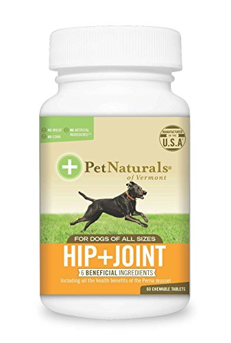 Pet Natural's of Vermont 60 Count Hip Plus Joint Supplement Tablets for Dogs