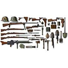 ICM Models WWI German Infantry Weapons and Equipments Kit