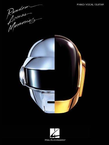 Hal Leonard Daft Punk - Random Access Memories for Piano/Vocal/Guitar (Legacy Motherboard)
