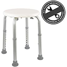 Medical Tool Free Adjustable Shower Stool Tub Chair and Bathtub Seat Bench with Anti-Slip  sc 1 st  Amazon.com : lab stools adjustable - islam-shia.org