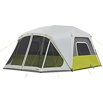 Amazon Com Core 10 Person Instant Cabin Tent With Screen