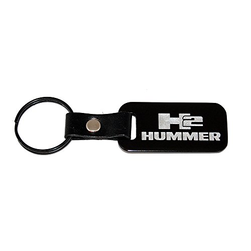 hummer h2 black keychain - 9