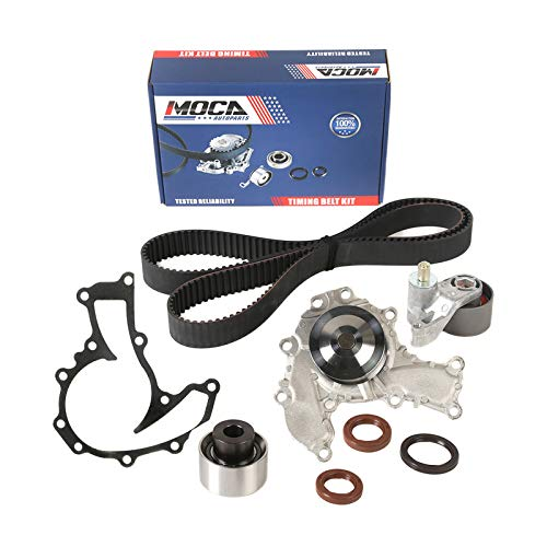 MOCA Timing Belt Water Pump Kit for 93-97 Isuzu Rodeo & 92-93 Isuzu Trooper & 94-97 Honda Passport & 96-97 Acura SLX 3.2L V6 SOHC