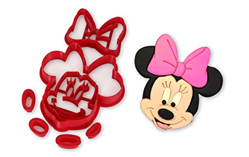Minnie Mouse Cookie Cutter Set]()