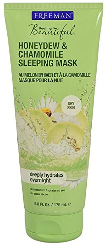 Freeman Feeling Beautiful Facial Sleeping Mask, Honeydew & Chamomile 6 oz (Pack of 4) For Sale