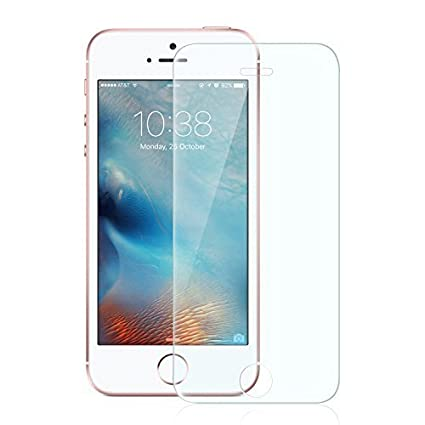 iphone se screen protector anker xtreme scratch terminator ultra clear tempered glass screen amazoncom tempered glass