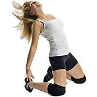 UNYBUY® Knee Pads for Dance/Skating   Pull-on Foam Padded Knee Guard Protector  Pick Your Size  Black (1 Pair)