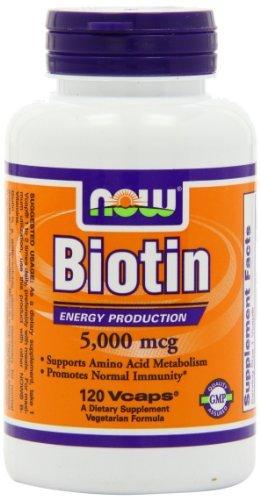 Now Foods Biotin Vegetarian Capsules